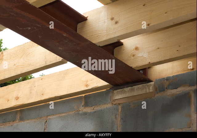 how to make stell beam support for a wodden beam