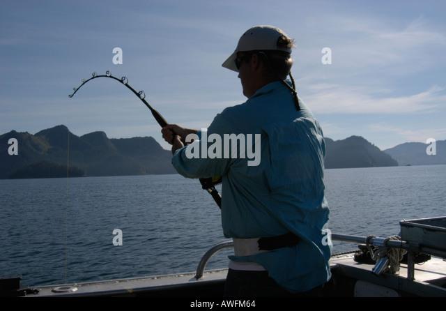 Halibut fishing seward alaska stock photos halibut for Seward halibut fishing