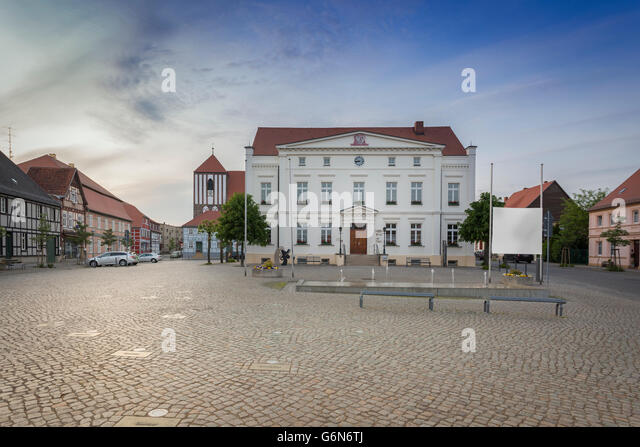 brandenburg small town stock photos brandenburg small town stock images alamy. Black Bedroom Furniture Sets. Home Design Ideas