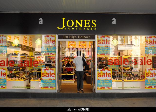 Shoe Sales Jones Bootmaker