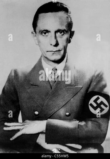 dr joseph goebbels and the nazi german propaganda The reich ministry of public enlightenment and propaganda minister joseph goebbels: agency and regulated the culture and mass media of nazi germany.