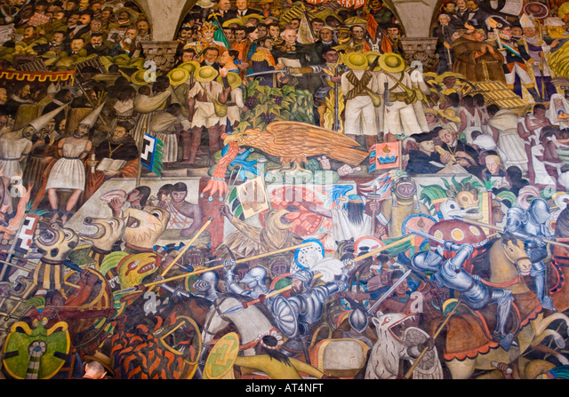 Diego rivera stock photos diego rivera stock images alamy for Diego rivera mural 1929