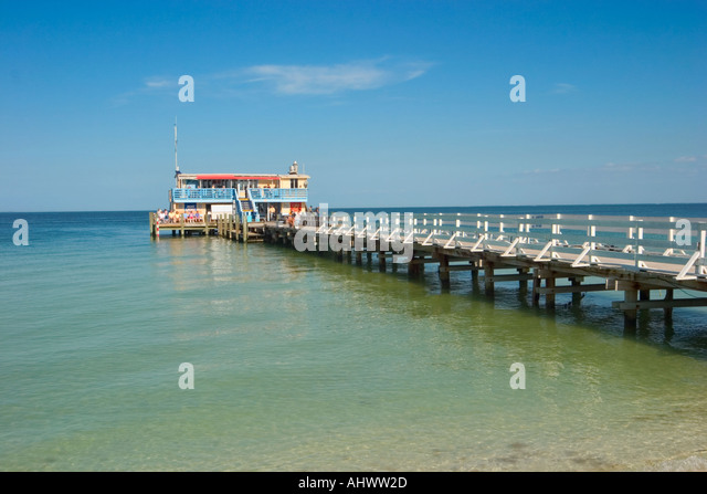 Fishing pier tampa stock photos fishing pier tampa stock for Tampa fishing piers