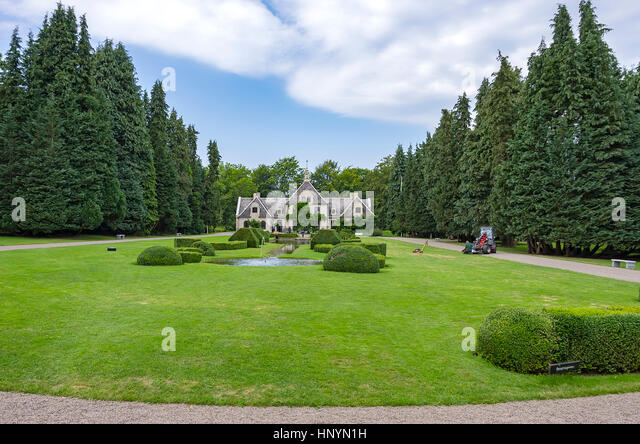 Skane county stock photos skane county stock images alamy for Garden pool ystad