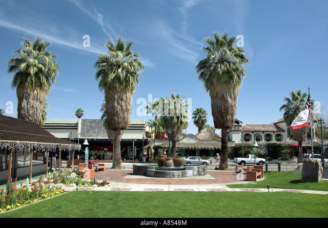 East palm canyon drive stock photos east palm canyon for Shopping in palm springs ca