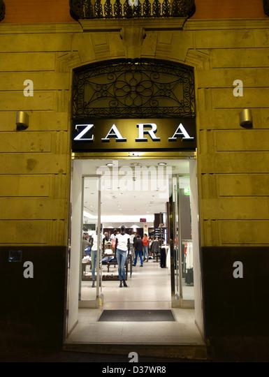 Spanish retail chain stock photos spanish retail chain - Zara home canarias ...