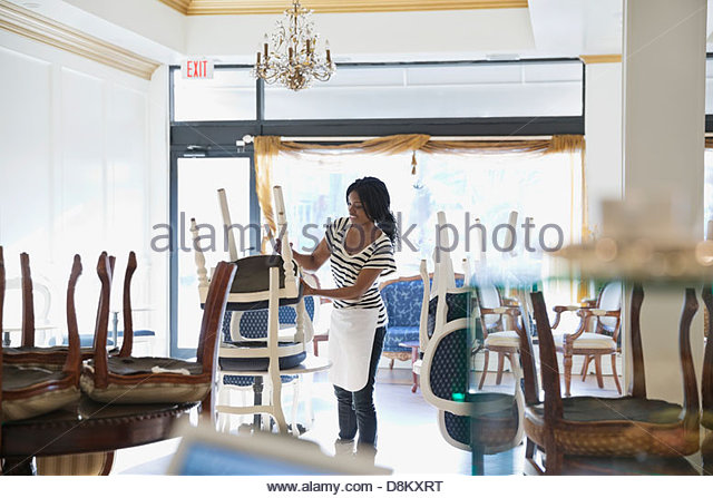 furniture store employee messy store stock photos messy store stock images alamy