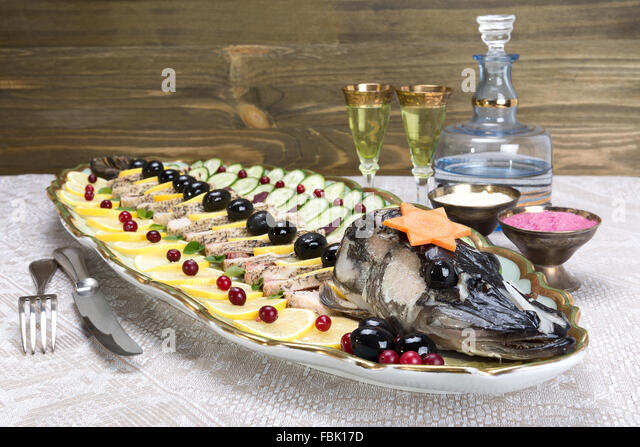 Deboned stock photos deboned stock images alamy for Jewish fish dish