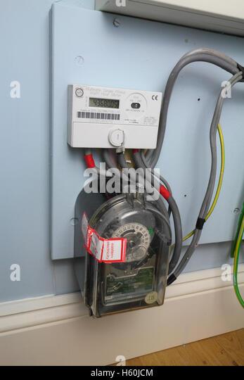 Electricity Meter Digital Stock Photos & Electricity Meter ...