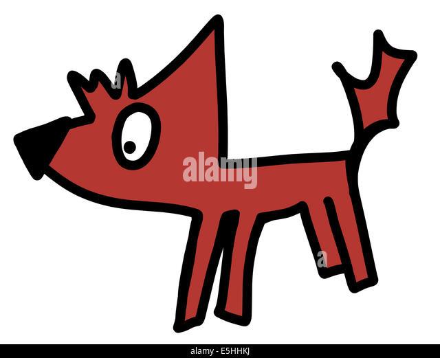 The Fox And The Hound Dog Walking Glasgow Scotland