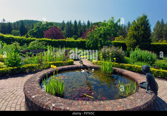 Ornamental garden pond uk stock photos ornamental garden for Ornamental pond