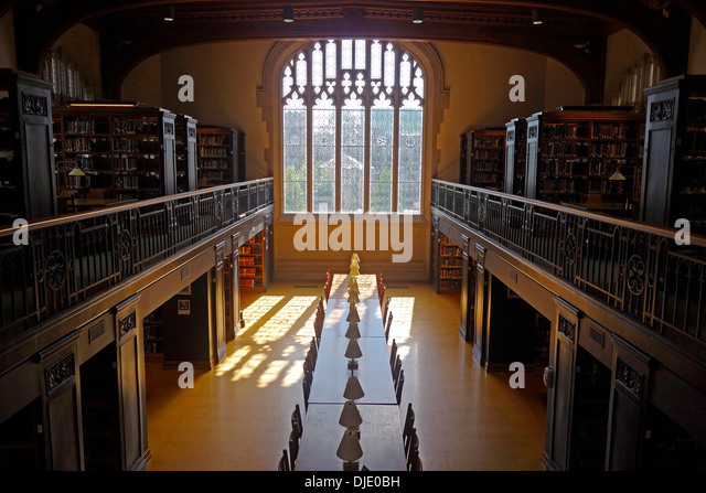 Interior Of Vassar College Library   Stock Image Part 93