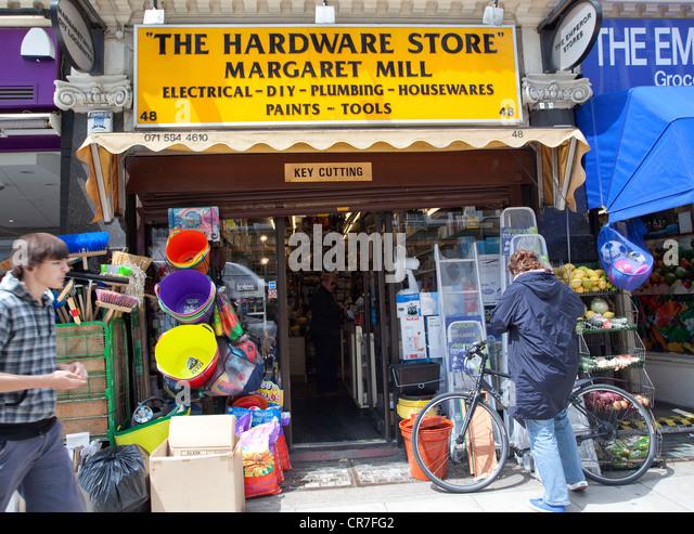 Do it yourself diy housewares store stock photos do it yourself hardware store in gloucester road kensington london stock image solutioingenieria Images