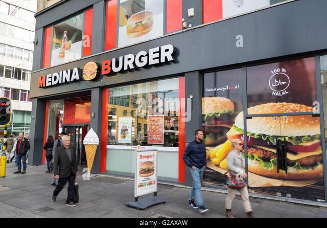 District Burger Food Truck Los Angeles