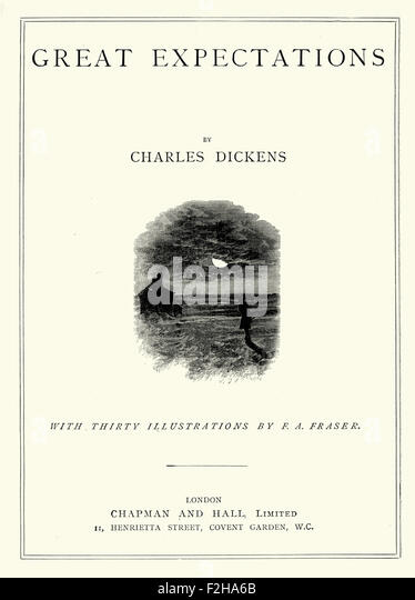 essays on great expectations by charles dickens Free essay: the novel, great expectations, looks back upon a period of pre- victorian development it displays that ambition and self-improvement is  something.