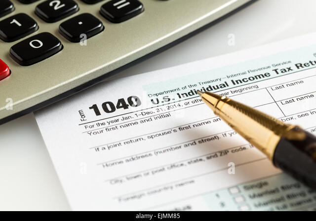 1040 tax form stock photos 1040 tax form stock images