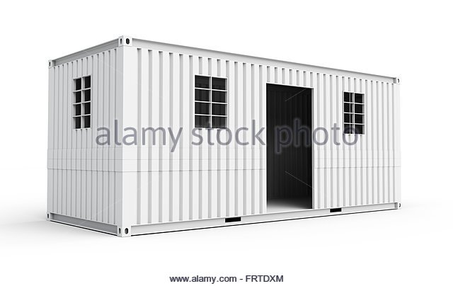 Shipping Container House Stock Photos Amp Shipping Container