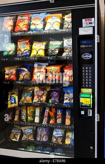 popular vending machine snacks