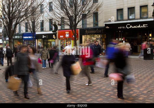 Nottingham Town Centre Ring Shops