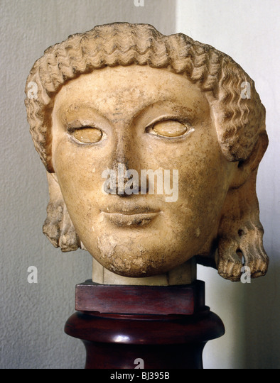The gallery for --> Etruscan Sculpture Woman
