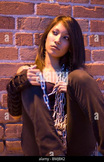 15 Year Boys Bedroom: Female Chain Gang Stock Photos & Female Chain Gang Stock