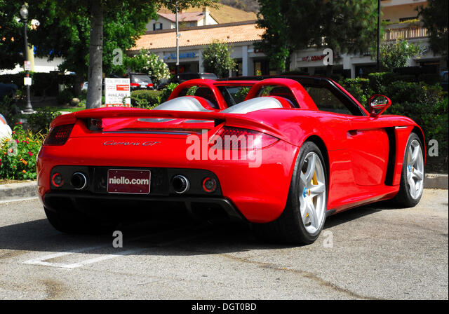 Porsche Carrera GT In Calabasas, California, USA   Stock Image