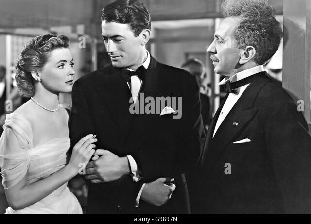 Gentlemens agreement film stock photos gentlemens agreement film gentlemens agreement 1947 20th century fox film with dorothy mcguire at left and gregory peck platinumwayz