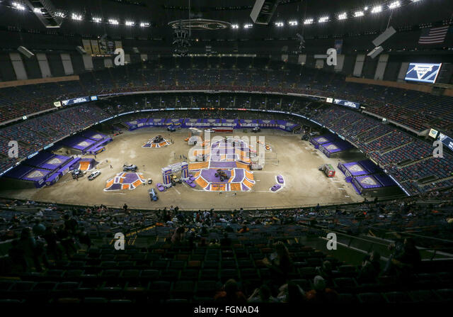 Monster trucks 2016 stock photos monster trucks 2016 for Mercedes benz superdome new orleans la