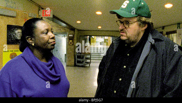 michael moore bowling for columbine thesis Laughing with/at michael moore by james ostrowski by james ostrowski in bowling for columbine, michael moore tries and fails to explain why america is so violent i give bowling for columbine one thumb down and the other thumb up.
