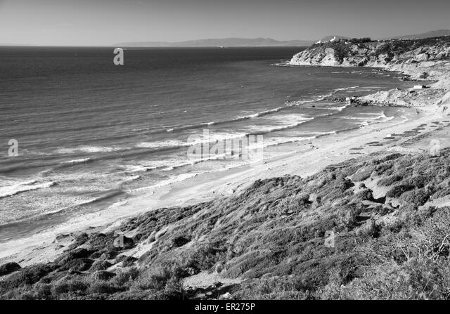 Tangier morocco ocean stock photos tangier morocco ocean - Moroccan port on the strait of gibraltar ...