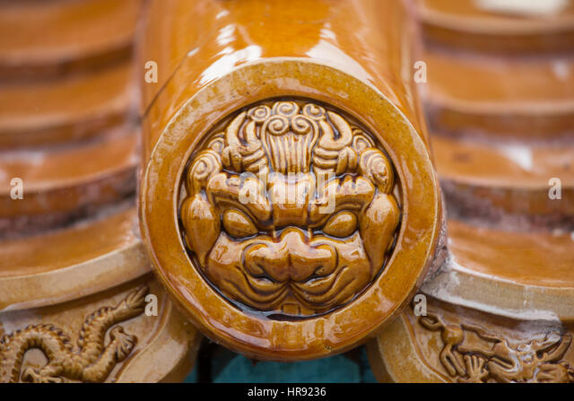 Chinese Roof Tiles Stock Photos Amp Chinese Roof Tiles Stock