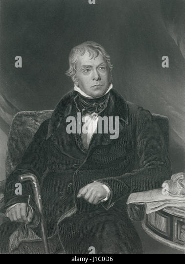 A biography of scottish novelist sir walter scott