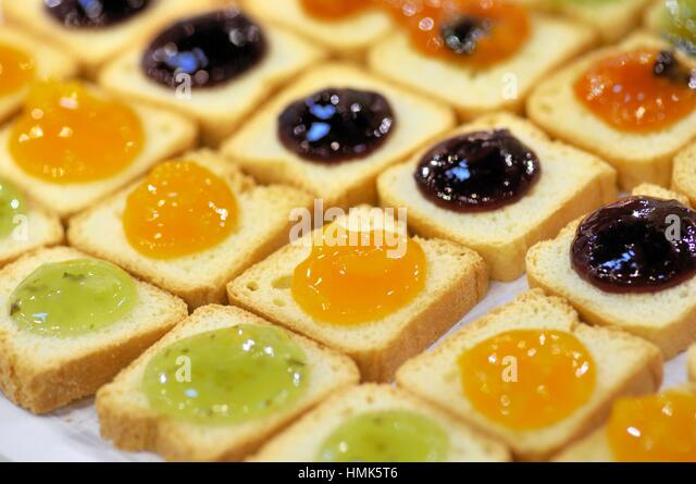 Alimentaria stock photos alimentaria stock images alamy for Canape barcelona