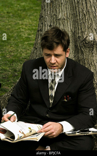 a movie analysis of a beautiful mind by russell crowe A beautiful mind review: a performance to wow audiences  russell crowe  gives a mesmerising performance as mathematical genius john forbes  the  film covers 47 years in the life of nash from his arrival at princeton in.