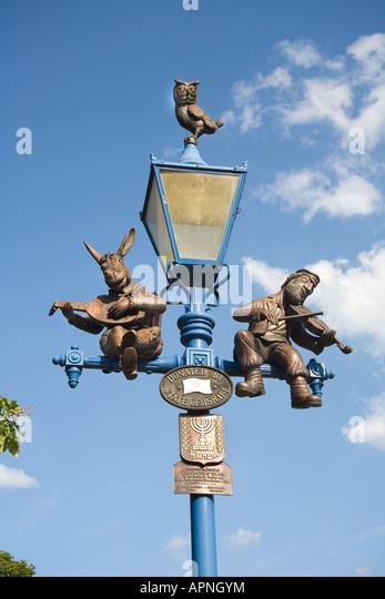 Novelty Lamp Posts : Globe Lamp Post Stock Photos & Globe Lamp Post Stock Images - Alamy