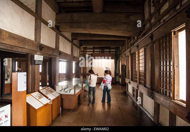 interior himeji castle stock photos & interior himeji castle stock
