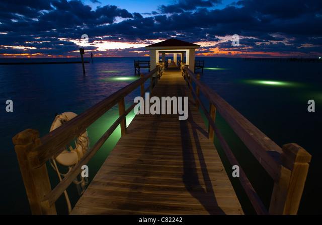 Texas beach stock photos texas beach stock images alamy for Gulf shores fishing pier