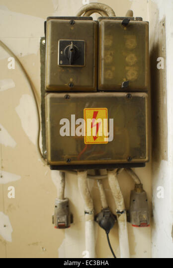 old fuse box ec3bha box old dangerous stock photos & box old dangerous stock images old fashioned fuse boxes at soozxer.org