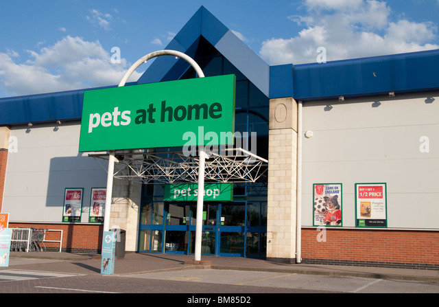 Pets At Home Retail Store Castle Marina Park Nottingham England UK