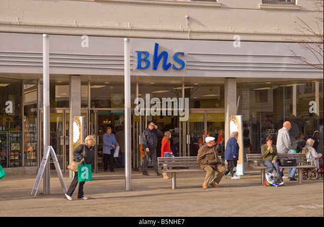 Bhs shop stock photos bhs shop stock images alamy for British house store