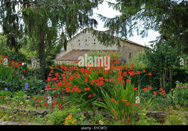 French Country Garden Stock Photos  French Country Garden Stock - French country garden