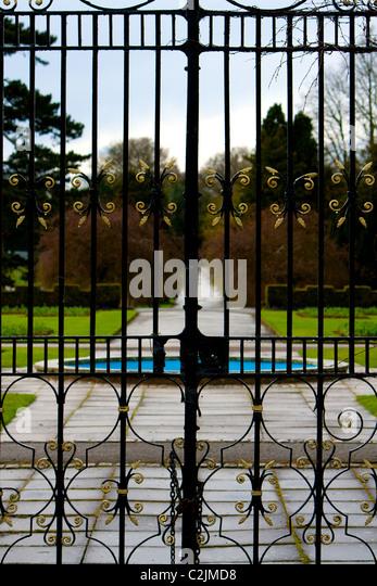 Garden Gates Closed Stock Photos Garden Gates Closed Stock