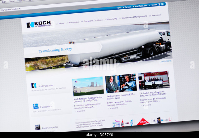 Koch industries stock photos koch industries stock for Koch website