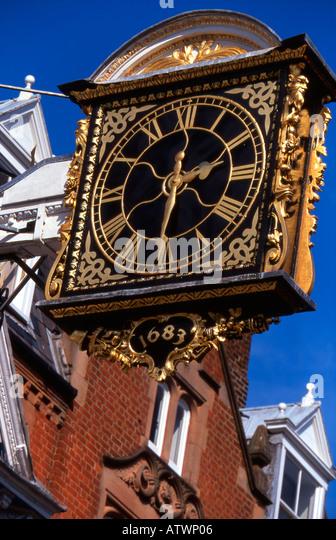 Roman Numerals Clock Stock Photos Amp Roman Numerals Clock