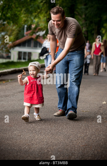 how to teach baby to walk alone