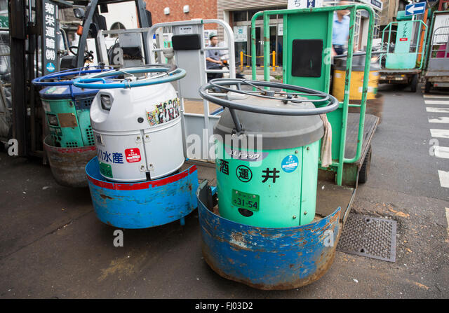 Transporters stock photos transporters stock images alamy for Tsukiji fish market chicago
