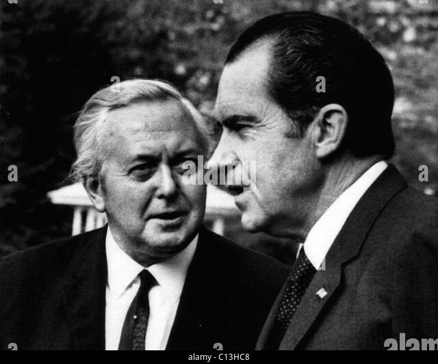 Nixon Presidency Us President Richard Stock Photos & Nixon ...