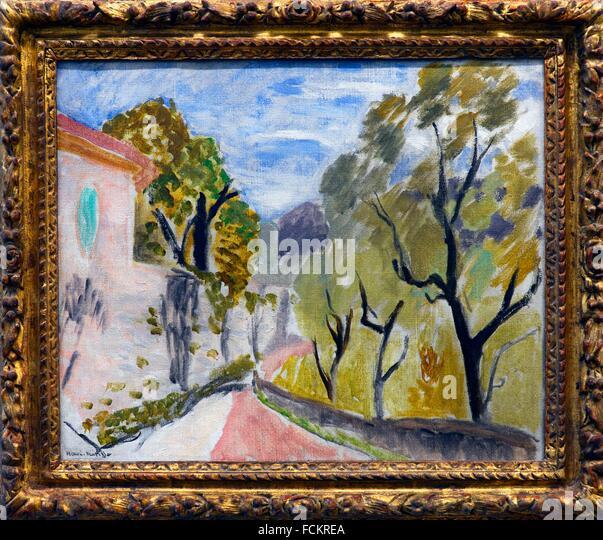 Henri matisse landscape stock photos henri matisse for Matisse fenetre a tahiti
