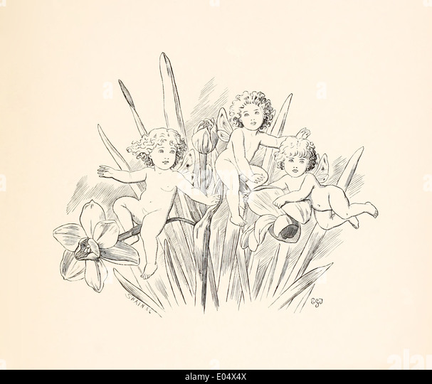 Emily Gertrude Thomson 1850 1929 Illustration From Lewis Carrolls Three Sunsets And