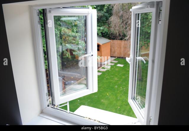 Double Opening Windows : Double glazing windows stock photos